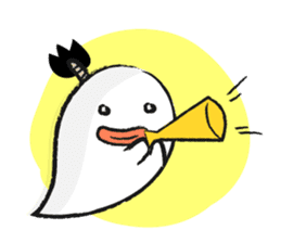 Chonmage Obake sticker #389963