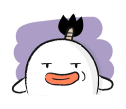 Chonmage Obake sticker #389974