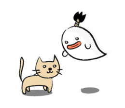 Chonmage Obake sticker #389983