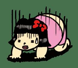 Fat woman momoko sticker #390252