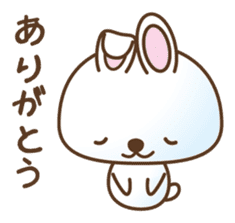 Four kinds of lovely animals! sticker #390282