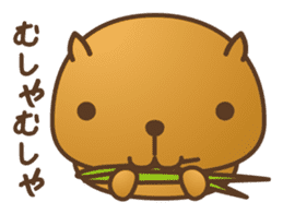 Four kinds of lovely animals! sticker #390302