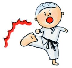 Let's KARATEDO sticker #390506