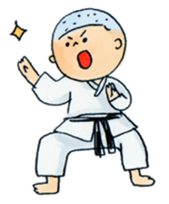 Let's KARATEDO sticker #390507