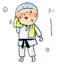 Let's KARATEDO sticker #390515