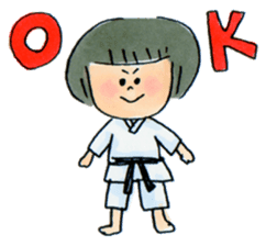 Let's KARATEDO sticker #390521
