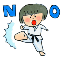 Let's KARATEDO sticker #390522