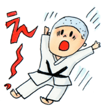 Let's KARATEDO sticker #390532
