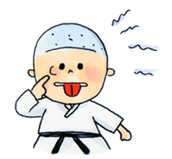Let's KARATEDO sticker #390534