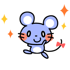 Sticker of cute mouse(Vol.2)