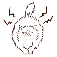 Grumpy cat sticker #391920
