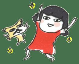 Junko & Glico(nonfiction) sticker #392065