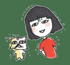 Junko & Glico(nonfiction) sticker #392066