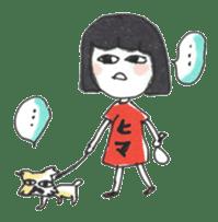 Junko & Glico(nonfiction) sticker #392074