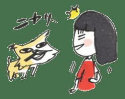Junko & Glico(nonfiction) sticker #392076