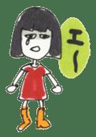 Junko & Glico(nonfiction) sticker #392081