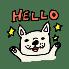 French bulldog's Stamp!! sticker #392106