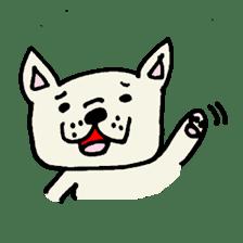 French bulldog's Stamp!! sticker #392110
