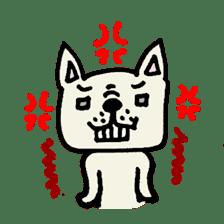 French bulldog's Stamp!! sticker #392131