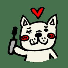 French bulldog's Stamp!! sticker #392142
