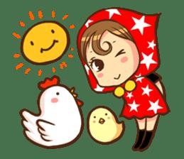 STAR POP GIRL sticker #392469