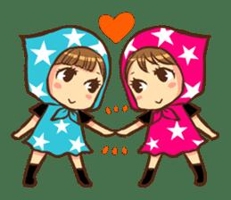 STAR POP GIRL sticker #392491