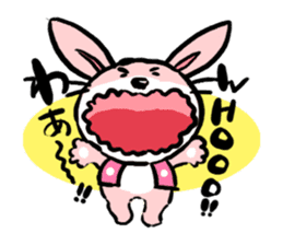 The rabbit of old tale sticker #392526
