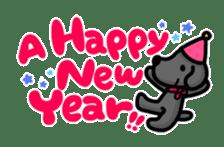 Black Labrador retriever Max sticker #392814
