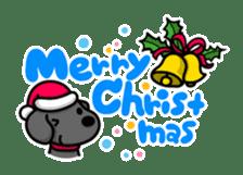 Black Labrador retriever Max sticker #392820