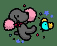Black Labrador retriever Max sticker #392822