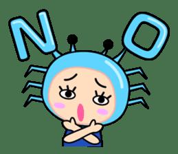 """Original Horoscopes:  Cancer """"The Crab"""" sticker #393618"""