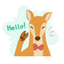 Jessica The Deer sticker #393670