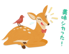 Jessica The Deer sticker #393699