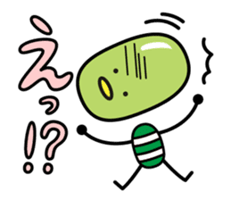 mameppi <edamame> sticker #394431