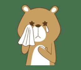 Costume bear and brown bear sticker #394708