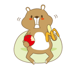 Costume bear and brown bear sticker #394710