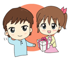 Kolly and Blue, The sweet moment sticker #395269