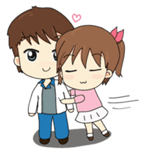 Kolly and Blue, The sweet moment sticker #395275