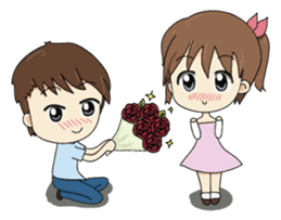 Kolly and Blue, The sweet moment sticker #395279