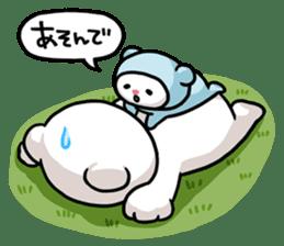 Hoikkuma&Mimy sticker #395308