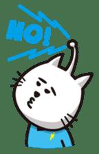 An alien like a cat sticker #395843