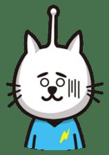 An alien like a cat sticker #395862