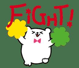 ManiKuma no ShiroKuma sticker #395909