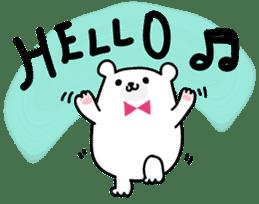 ManiKuma no ShiroKuma sticker #395922