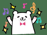 ManiKuma no ShiroKuma sticker #395925