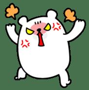 ManiKuma no ShiroKuma sticker #395933