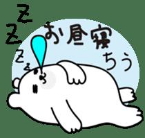 ManiKuma no ShiroKuma sticker #395939