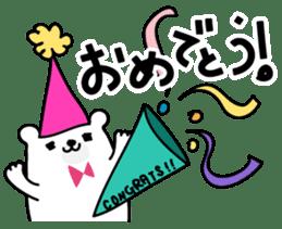 ManiKuma no ShiroKuma sticker #395941