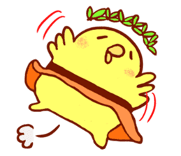 Aloha chick sticker #396278