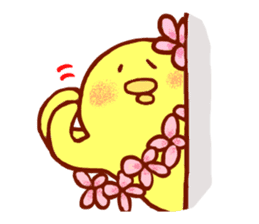 Aloha chick sticker #396290
